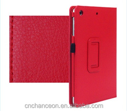 Luxury PU Leather Lichee Pattern Tablet PC smart flip Case Cover for Ipad mini 1 & 2 CO-LTC-317