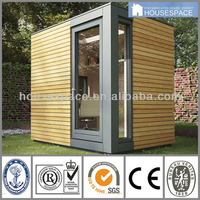 Modern Solid Wood Cladding Container Homes