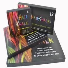 2015 New arrival Temporary hair colour chalk 6/12/24/36 colours for choice