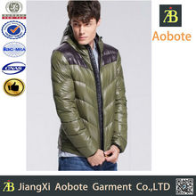2015 New Design Foldable Outdoor Ultra Thin Man Down Jacket