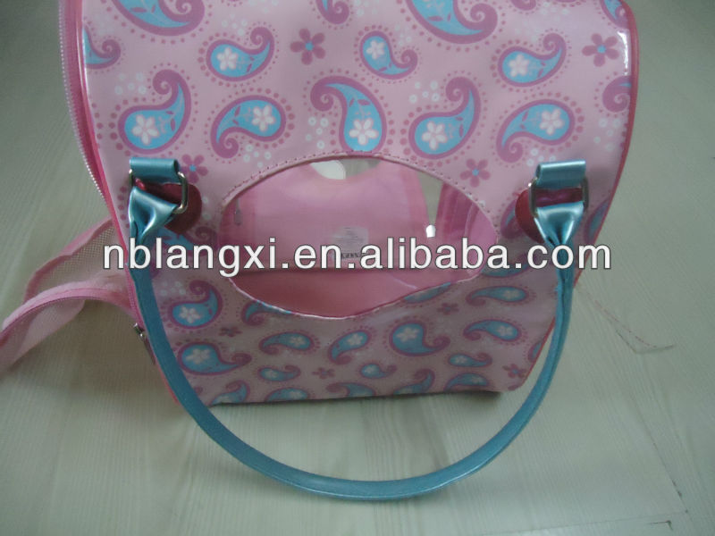 Cute Pink Rabbit Carrier,Rabbit Carrier Bag