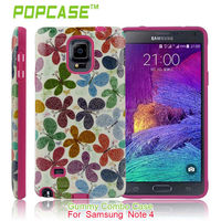 UV oil Hard Protective Case Cover for samsung galaxy 4 note