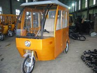 2015Adult Electric tricycle with passenger seat similar to German velo taxi YuFeng