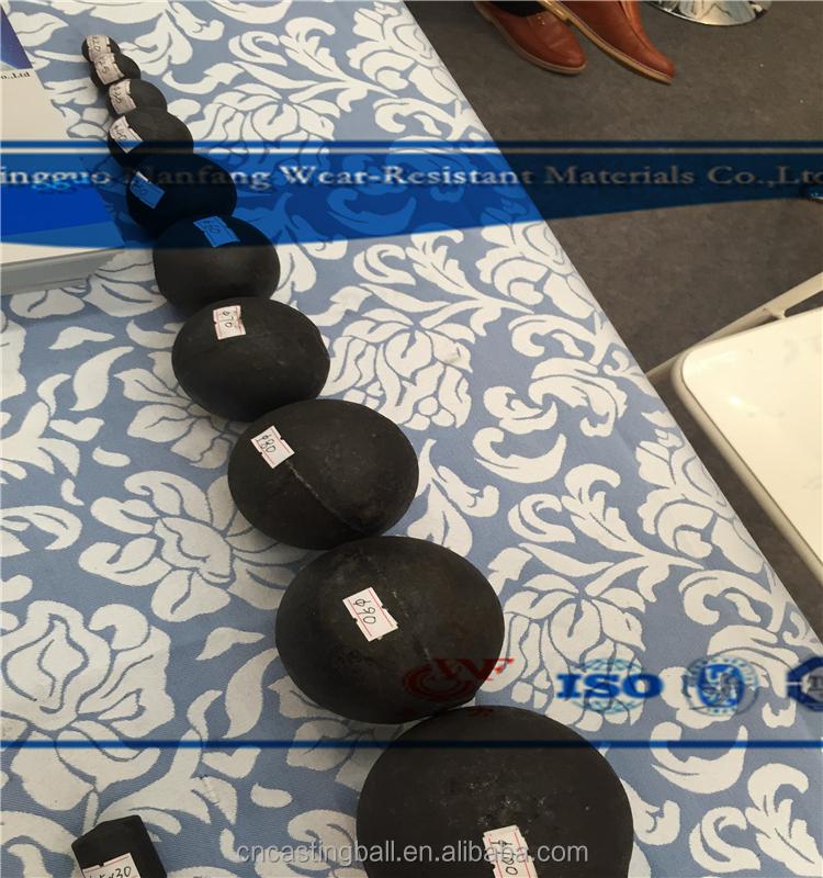 Высокая Cr18 меля литья стальной шарик для добычи