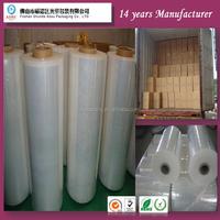 Factory manufacture PE cling food wrap film,food plastic wrap Food Grade Pe Cling Film lldpeStretched Film