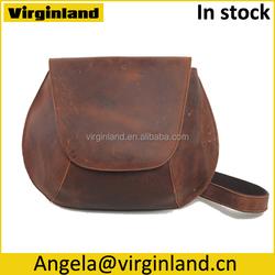 5001 Fashionable Shell Shape Bag Real Leather Crossbody Bag for Ladies