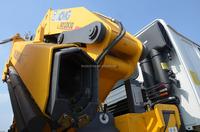 Sinotruk 6x4 dump truck with crane truck with crane