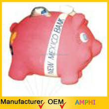 2015 best qua;ity chinese superior quality giant inflatable pig customized cartoon animal/characters for kid/advertising