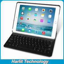 Ultrathin Keyboard Folio for iPad Air Bluetooth, Portfolio Bluetooth Keyboard Leather Case Ultra Slim