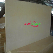 Linyi China decorative plywood,okume hardboard for furniture, CARB P2 certified for America Market