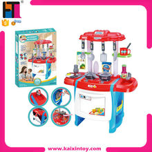Hot Sale Funny Shopkins Toys Plastic Pretend Kitchen Play Set