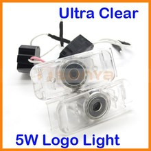 5W LED Car Door Courtesy Laser Projector Logo Ghost Shadow Light No Drill LED Car Light