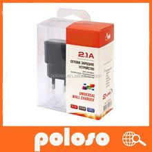 hot sale 5v 3.1a usb wall charger with EU plug