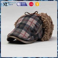 Wholesale fashion wool knitted women beanie winter hat men winter hat