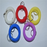 jelly color key chain for promotional gifts for swim