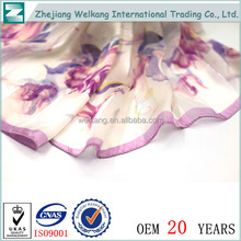 Wholesale china trade women famous brand silk scarf
