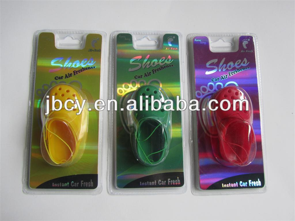 2015 new colorful mini cross air freshener OEM