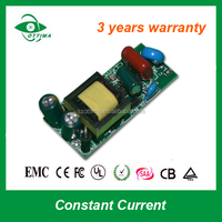 constant current 300mA high pf bis standard isolate 12w led driver module for bulb lighting