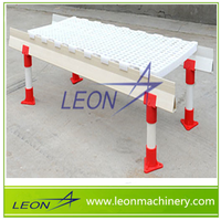 LEON brand clear plastic floor mats for poultry house