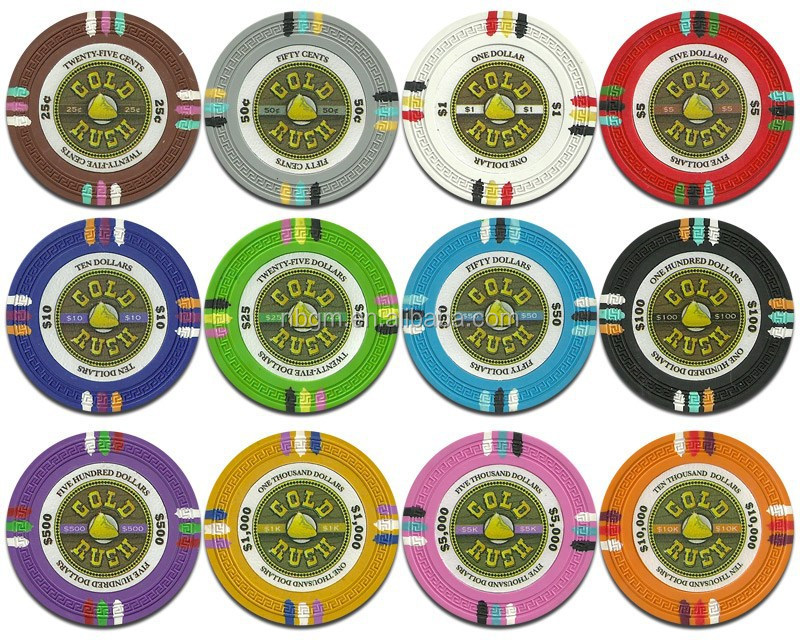 14g 4 color Clay Poker Chips/Casino Poker Chip