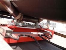 Rolo de transporte escalas para transporte pesagem de materiais a granel