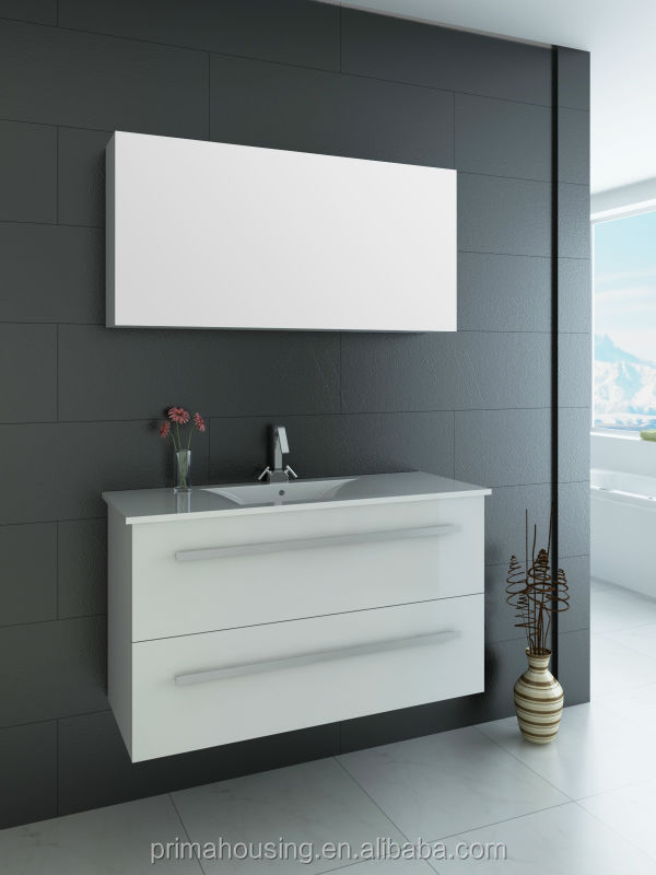 white cheap modern bathroom vanity wall mounted used