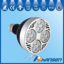 led spotlight par30 35w e27 par30 lampada a led