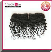 Fashionable Grade AAAAA Indian Human Virgin human hair lace frontal piece