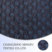 Wool knitted fabric for the coats, wool and viscose, acrylic fabric