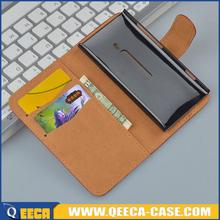 Wholesale price pu leather phone cover for nokia lumia 800 flip case