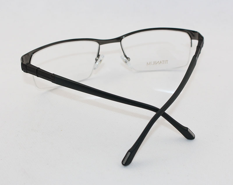 Titanium Eyeglass Frames China : China Fancy Half Rim Stepper Titanium Eyeglass Frames ...