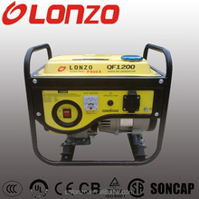 Hot LZ1500 156F AC Single Phase 87cc Recoil Start Home Use 1kw gasoline generator with 12 Months Wrranty