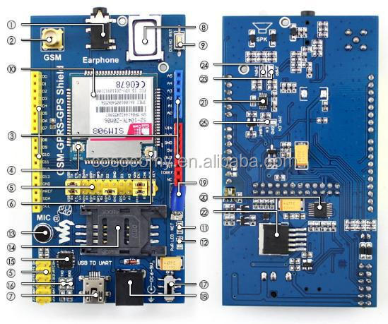 Quickstart SIM800 SIM800L with Arduino