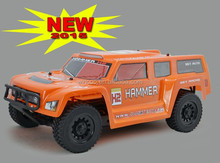 Wincoo RC Battery 16.4 Grand Sport RC Car 1:9 Scale Hummer (Colors May Vary)