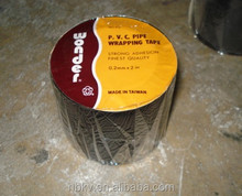 """High Quality Wonder PVC Black Pipe Wrapping Tape,0.2mm x 2"""""""