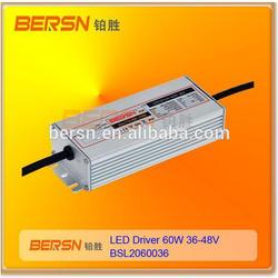 0-10V dimmable LED Driver 40W/60W, LED power supply