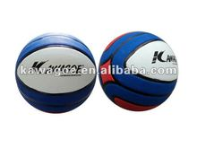 Promotion multi-color rubber basketball