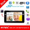 New Dual Core IPS camera best price 7inch 2013 hot Tablet pc mtk 8377 dual facing camera