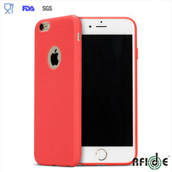 Silicone phone case for iphone 6