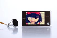 wireless peephole video door phone 3.5 inch ultra bright TFT LCD screen