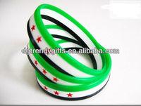 Free syria silicone bracelet/wristband