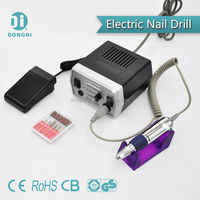 Foot pedal operated high quality Salon nail manicure set RPM30000