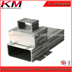Aluminum profile extrusion enclosure used for electronics