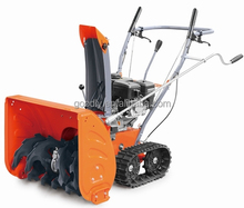 5.5 HP track snow thrower