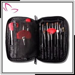 New design professional makeup bag for 25 piece makeup brushes