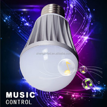 Hot sell led flash light high quality e27 smart led bluetooth bulb new arrival in Shenzhen
