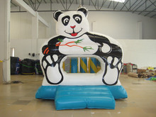 animal model panda inflatable bouncer