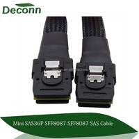 Mini SAS 36 Pin SFF-8087 to Mini SAS 36 Pin Data Transfer Cable Adapter