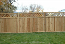 High Quality Fir Wooden Picket Fence
