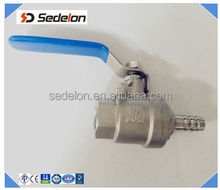 Stainless Steel Stop Gas Valve Stop Cock Female Thread